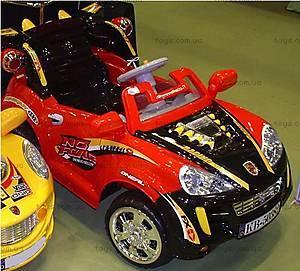 Электромобиль с радиоуправлением, черно-красный, KB50382A-RED/