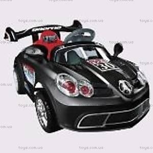Электромобиль «Спорткар» черный, C-013
