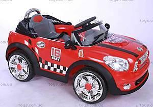 Электромобиль «Спорткар», красный с р/у, YJ018 R/C RED