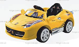 Электромобиль «Спорткар» с MP3, на р/у, 5888 R/C YELL