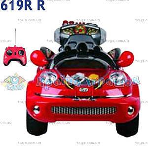 Электромобиль Super Grand красный, 619R