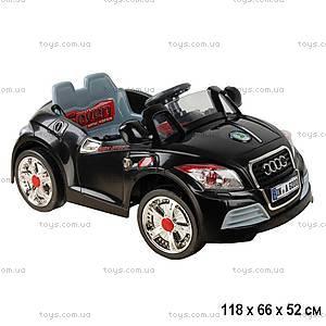 Электромобиль типа Audi, с радиоуправлением, YJ128A-BLACK