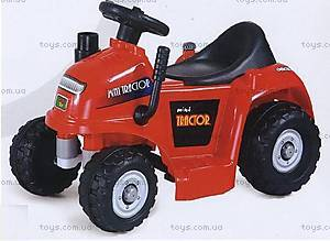 Электромобиль «Трактор», красный, RD201-RED