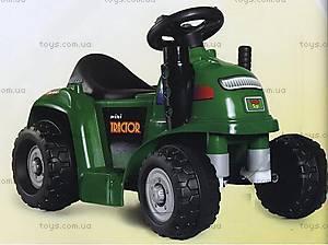 Электромобиль «Трактор», зеленый, RD201-GREEN