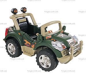 Электромобиль «Внедорожник», зеленый, 03010360