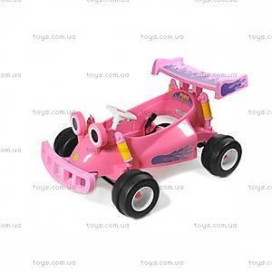 Электромобиль «Картинг», розовый, YJ129-PINK