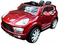 Электромобиль красный Porsche Cayenne, T-7827 RED, купить