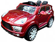 Электромобиль красный Porsche Cayenne, T-7827 RED, опт