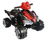 Электромобиль квадроцикл T-731 BLACK 6V7AH, T-731 BLACK, купить