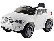 Электромобиль T-791 BMW X6 WHITE на радиоуправлении, T-791 WHITE, купить