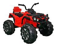 ЭлектромобильT-733 RED квадроцикл 12V7AH с MP3, T-733 RED, купить