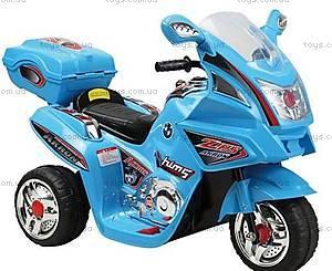 Электромотоцикл для детей, черный, M-010