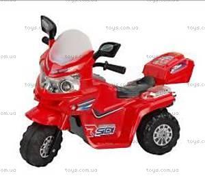 Электромотоцикл для детей, красный, M-003