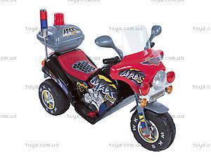 Электромотоцикл для детей, серый, 03010304 ЧEP