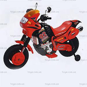 Электромотоцикл «Герой», красный, 451