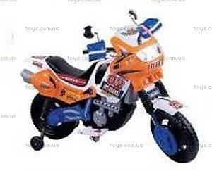 Электромотоцикл «Герой», синий, 451