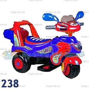 Электромотоцикл «Гоночный», красный, 238