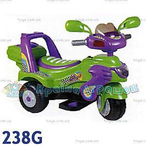 Электромотоцикл «Гоночный», зеленый, 238