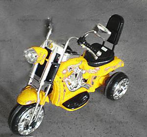 Электромотоцикл Harley, желтый, VC108-YELLOW