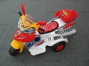 Электромотоцикл Mini, белый, 6103