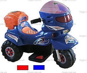 Электромотоцикл Mini, красно-синий, LQ068-RED-BLU