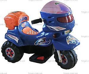 Электромотоцикл Mini, сине-оранжевый, LQ068-BLUE-OR
