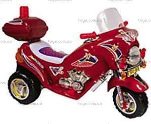 Электромотоцикл «Полиция», бордовый, 03010324  БOP
