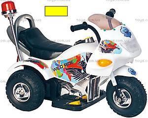 Электромотоцикл «Полиция» желтый, YC113E(PB301B