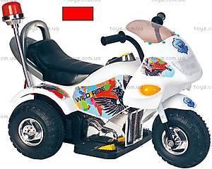 Электромотоцикл «Полиция» красный, YC113E(PB301B
