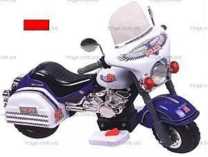 Электромотоцикл «Полиция», красный, 6699
