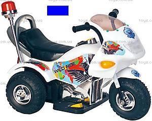 Электромотоцикл «Полиция» синий, YC113E(PB301B