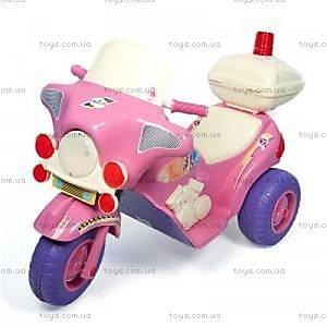 Электромобиль для девочек «Мотоцикл», 372_Р