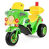 Электромотоцикл «Ямаха» зеленый, 372 Зеленый, іграшки