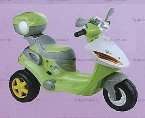 Электромотороллер зеленый, KL01-GREEN