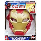 Электронная маска Железного Человека, B5784, фото