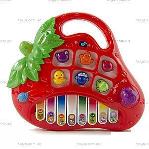 Электронное развивающее пианино «Клубничка», 8806-1