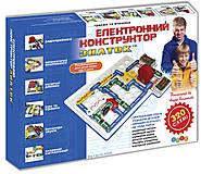 Электронный конструктор «Знаток», REW-K002, toys.com.ua