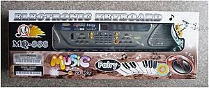 Электронный синтезатор, с микрофоном, MQ-888
