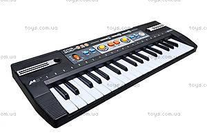 Электропианино, 37 клавиш, MS020, детские игрушки