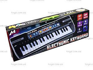Электропианино, 37 клавиш, MS020, магазин игрушек