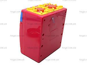 Игрушечная электроплита с посудой, QF26131, купить