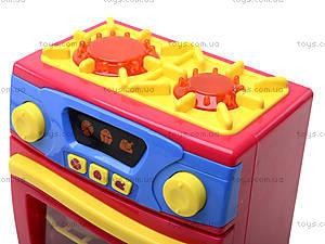 Игрушечная электроплита с посудой, QF26131, цена