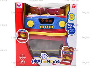 Игрушечная электроплита с посудой, QF26131, игрушки