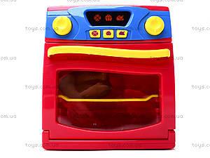 Игрушечная электроплита с посудой, QF26131, детские игрушки