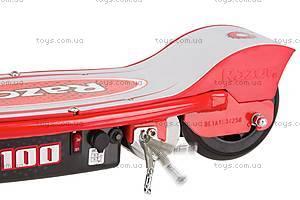 Электросамокат Razor Е100, красный, R13181160, цена