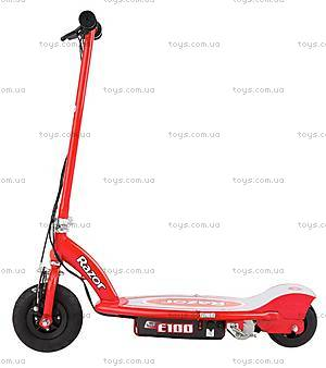 Электросамокат Razor Е100, красный, R13181160, игрушки