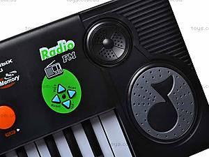 Электросинтезатор с микрофоном, 0886, цена