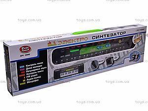 Электросинтезатор с радио, 0885, купить