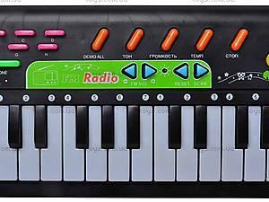 Электросинтезатор с радио, 0885, игрушки