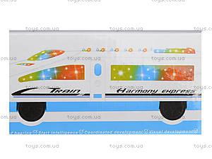 Детский игрушечный поезд «Электричка», 8050, фото